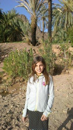 Auberge La Roche Noire : Ma petite fille à l'Oasis