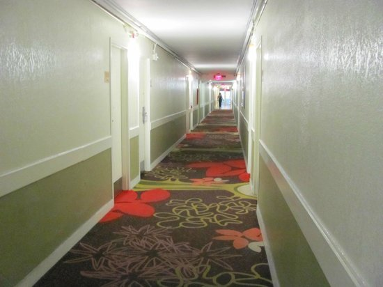 Ramada Hialeah/Miami Airport: O corredor.