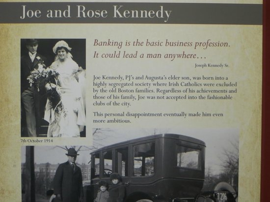 Kennedy Homestead: JFK's ambitious Parents - his Father became U.S. Ambassador to Britain