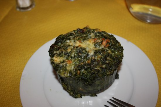 L'Escaladou : Мидии со шпинатом