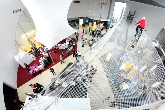 The main exhibition area features some of Heureka's most popular ...
