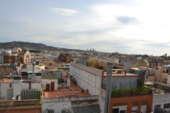 Lleo Hotel: Uitzicht dakterras