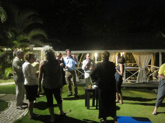 Sea-U Guest House : Welcome Reception on a Monday evening