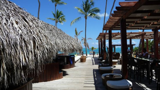 Punta Cana Princess All Suites Resort & Spa: View From Mare Nostrum Restaurant