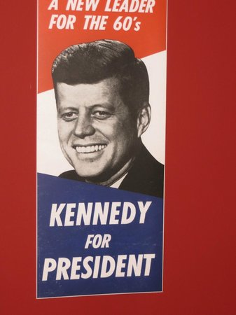 Kennedy Homestead: A Poster from the 1960 Election Campaign