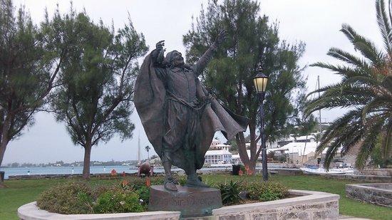 Ordnance Island : Admiral Sir George Somers