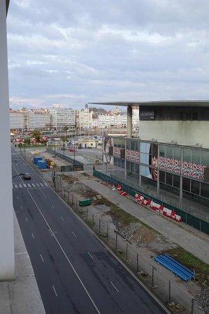 NH La Coruna Atlantico : view looking to left