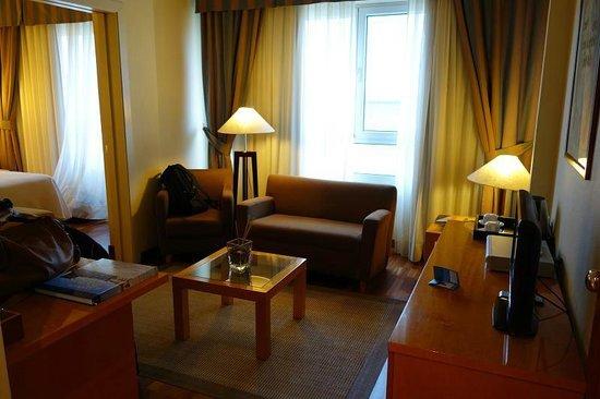 NH A Coruña Atlantico: sitting area