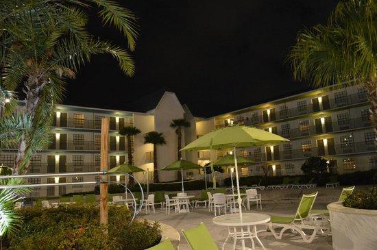Avanti International Resort: Área gostosa pra relaxar depois de um dia nos parques.