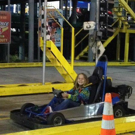 Fun Spot America : finally old enough to drive without grandpa!!!
