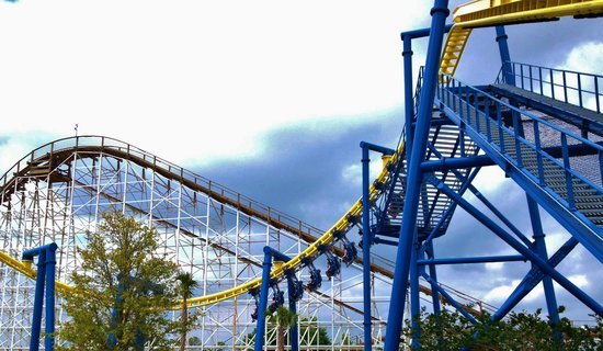 Fun Spot America : inverted coaster