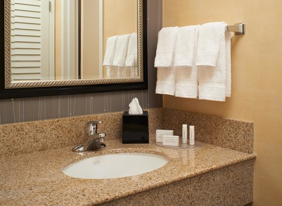 Courtyard Detroit Warren : Guest Room Bathroom