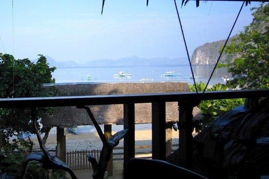 Greenviews Resort Corong-Corong: View from Dining Area..