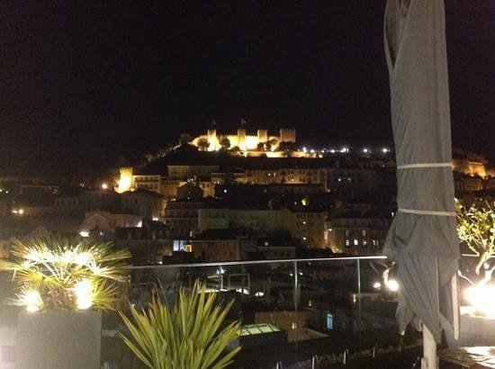 Hotel Mundial : vue du bar panoramique sur le toit