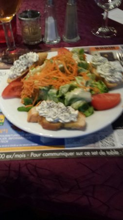 LE GRILL SAINT JEAN : La salade Saint Jean du menu tradition