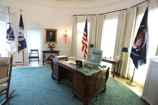 Oval Office Picture Of Lbj Presidential Library Austin
