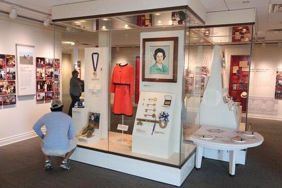 LBJ Presidential Library : Lady Bird area