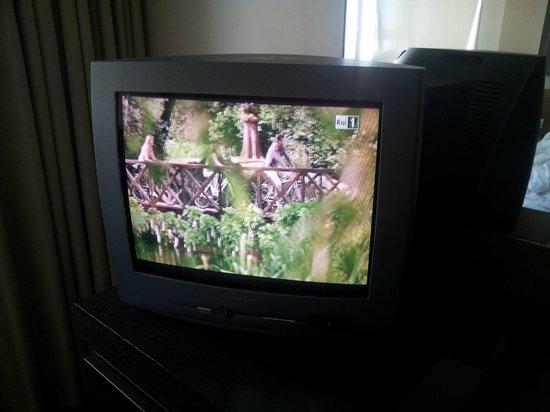 NH Laguna Palace: Пузатый телевизор