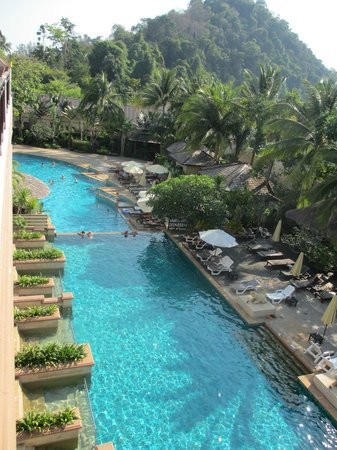 Krabi La Playa Resort : View from our room 418