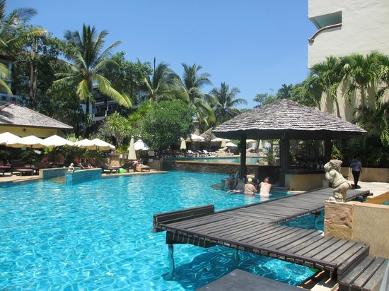 Krabi La Playa Resort : Pool at La Playa