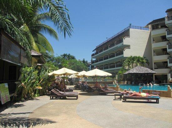 Krabi La Playa Resort : Pool at La Playa