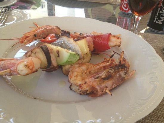 Casa del Mare : ужин в ресторане