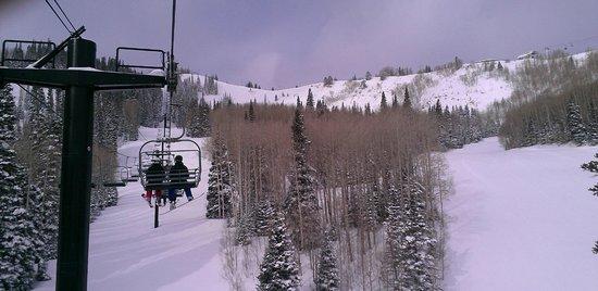 Park City Mountain Resort: Beautiful day on Pioneer