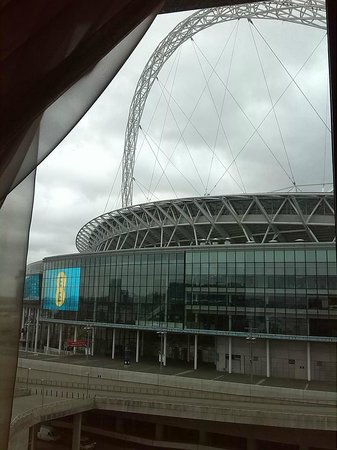 Hilton London Wembley: View from room 802 - Executive king room