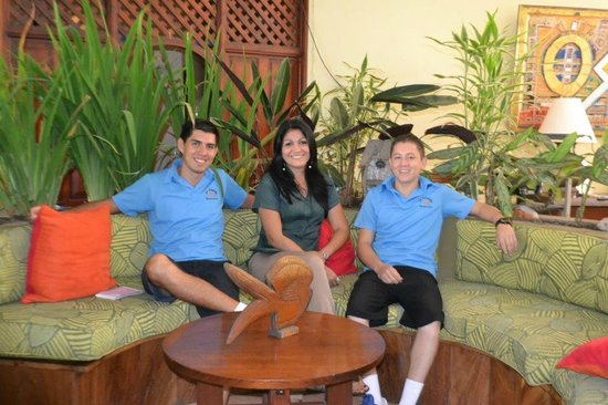 Hotel Club del Mar: Staff - restaurant & spa