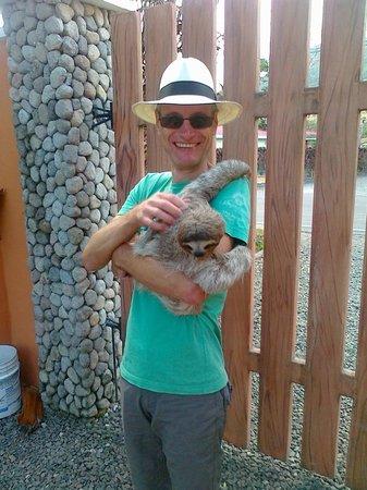 Casa Mariposa : Oh wie nett sind Faultiere