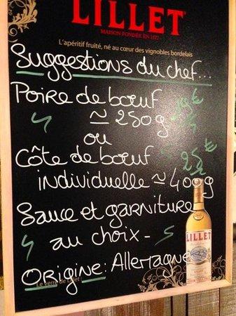 La Mangoune: Suggestions of the day