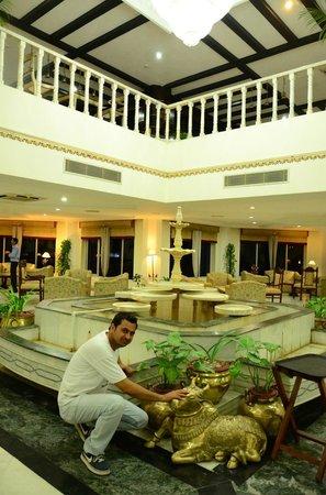Ramada Khajuraho: Reception Lobby