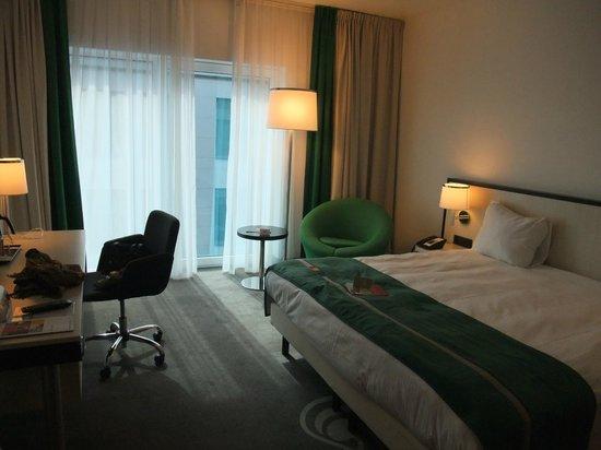 Park Inn by Radisson Brussels Midi : our bedroom