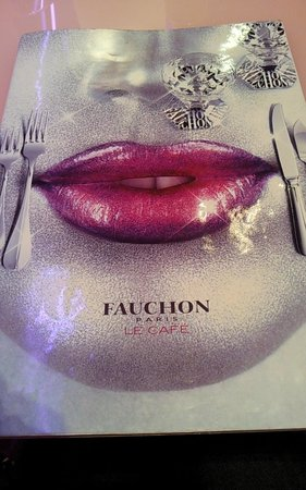 Fauchon Cafe: The menu