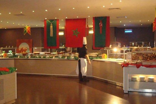 Kenzi Club Agdal Medina : Le buffet soirée Marocaine