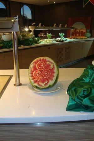 Kenzi Club Agdal Medina : Dans les moindres détails.... Chapeau l'artiste qui a sculpté cette pastèque