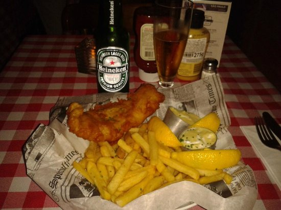 P.J. Clarke's: fish and fries