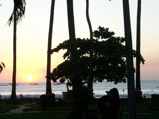 Hotel Tamarindo Diria: View at dinner