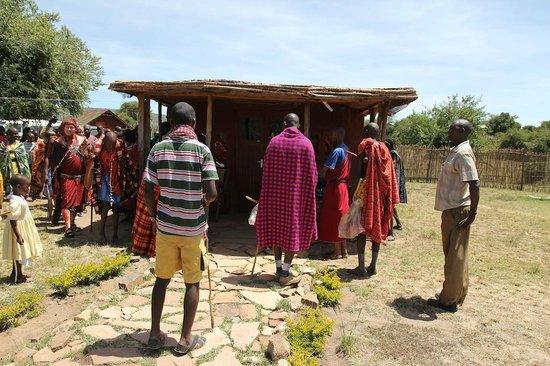 Leganishu Maasai Cultural Homestay: Outside our room