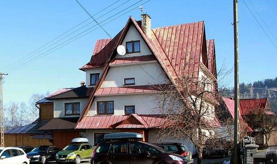 U Niedzielskich: Widok na jeden z budynków