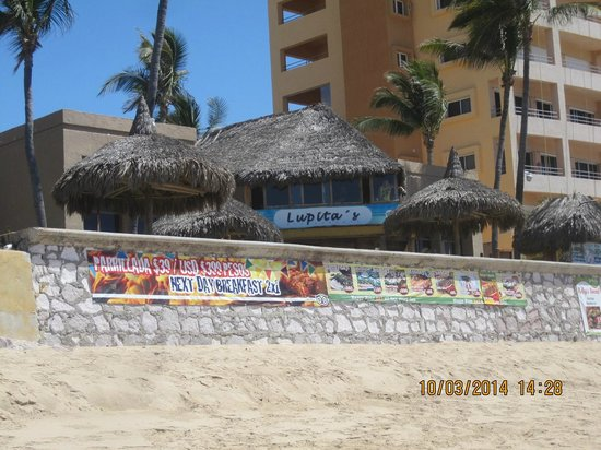 Lupita's: You can't miss it on Playa Bruja!