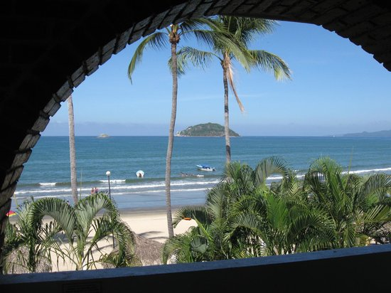 Costa Alegre Hotel and Suites: View from our room