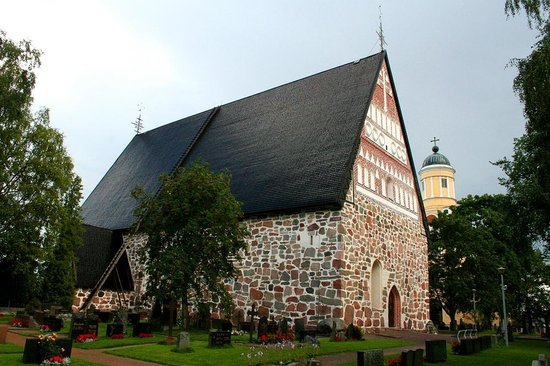 The Church of Hollola is one of the 86 Finnish stone churches completed during the Middle Ages.