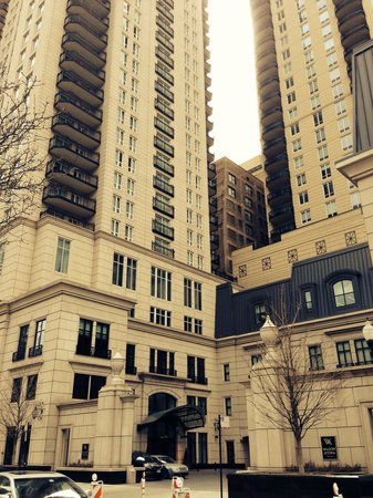 Waldorf Astoria Chicago: Equally beautiful outside as it is on the inside.  Simply majestic!