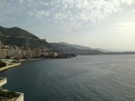 Fairmont Monte Carlo : view from restaurant terrace