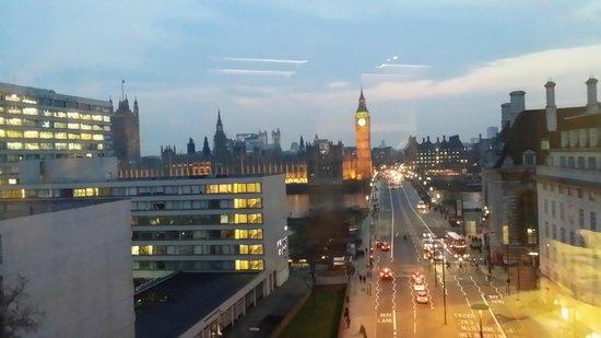 Park Plaza Westminster Bridge London : vistas desde la habitación