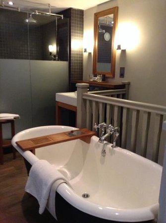 Hotel du Vin York: lovely bathroom