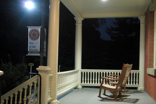 Inn at the Presidio: front porch
