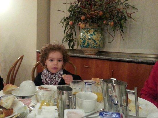 Hotel Fenice: café da manhã muito bom