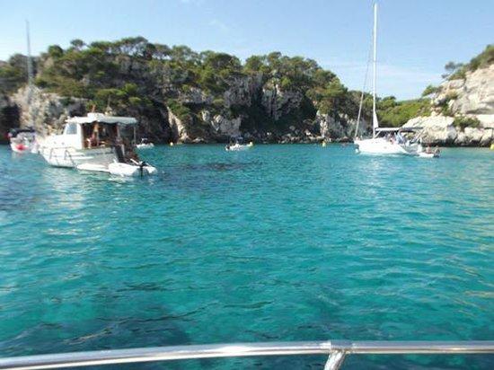 Menorca en barco